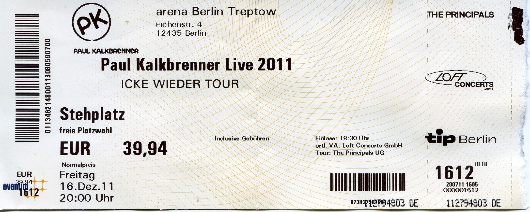 Schön Konzert Ticket Vorlage Wort Galerie - Beispiel Wiederaufnahme ...