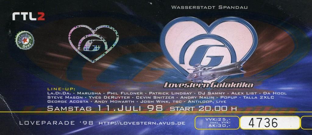 Lovestern Galaktika 1998
