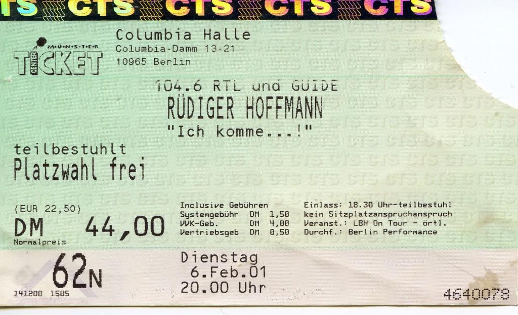 Rüdiger Hoffmann 2001