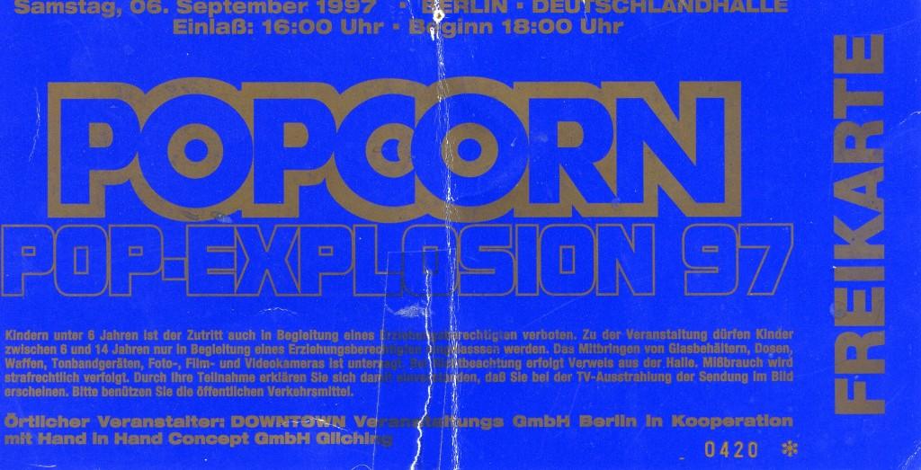 POPCORN POP-EXPLOSION 1997